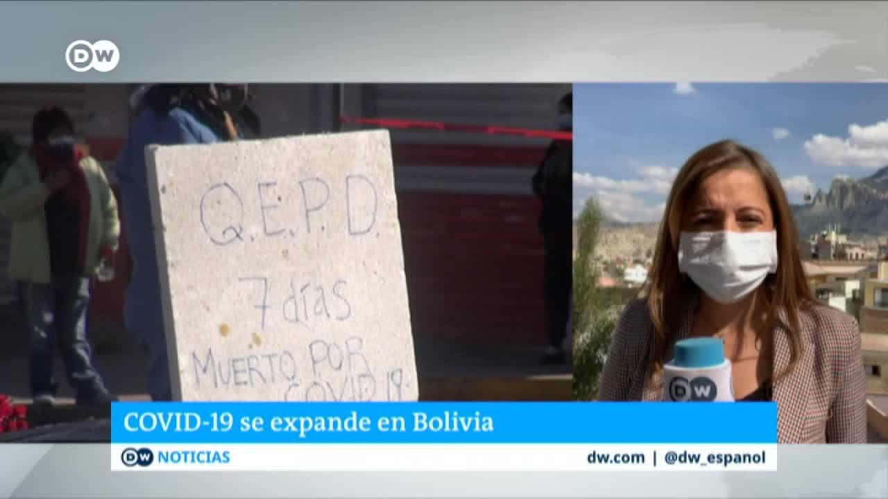 COVID-19 sobrepasa las capacidades del gobierno en Bolivia