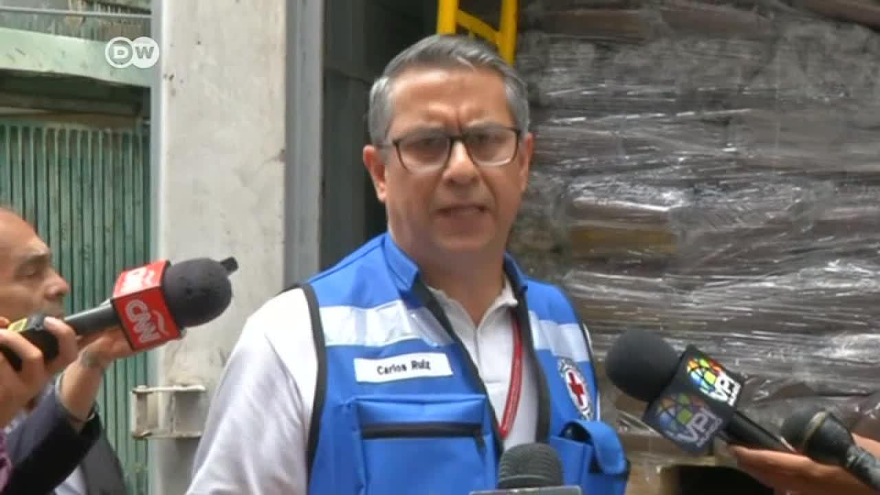 Cruz Roja intenta paliar la crisis humanitaria en Venezuela