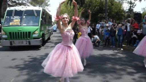 Danzando en el tráfico