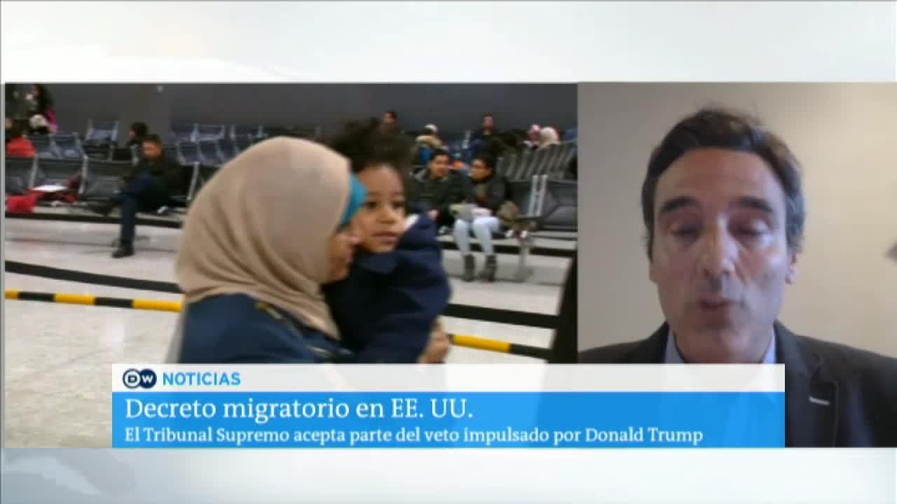 Decreto migratorio en EE.UU.