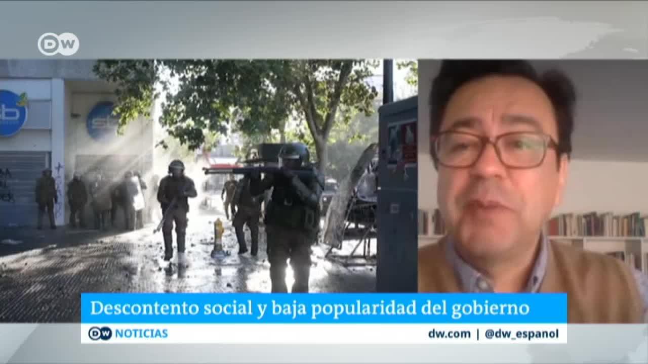 Descontento social y baja popularidad del gobierno en Chile