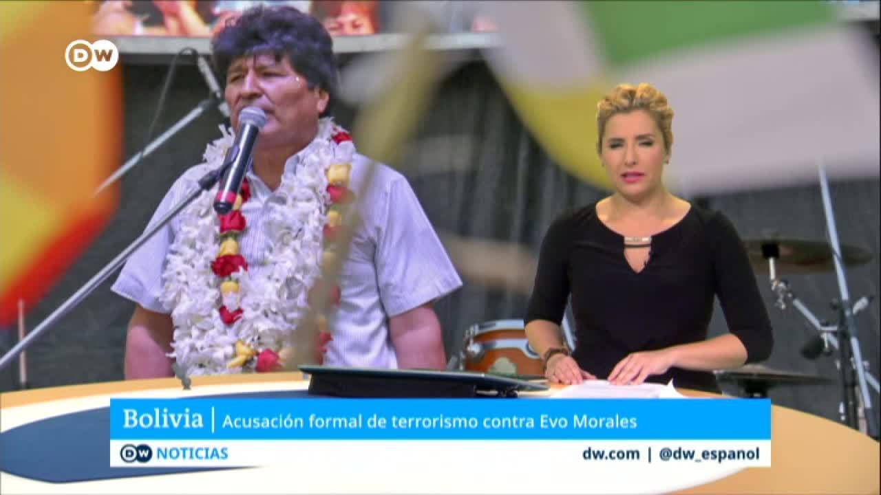 Detalles de la acusación formal contra Evo Morales por terrorismo