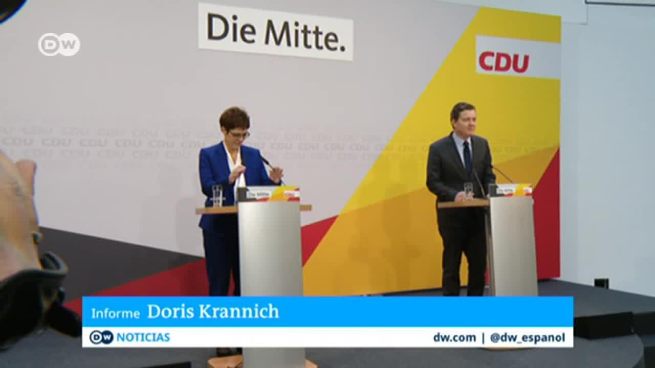 Dimisión de AKK toma a la CDU por sorpresa