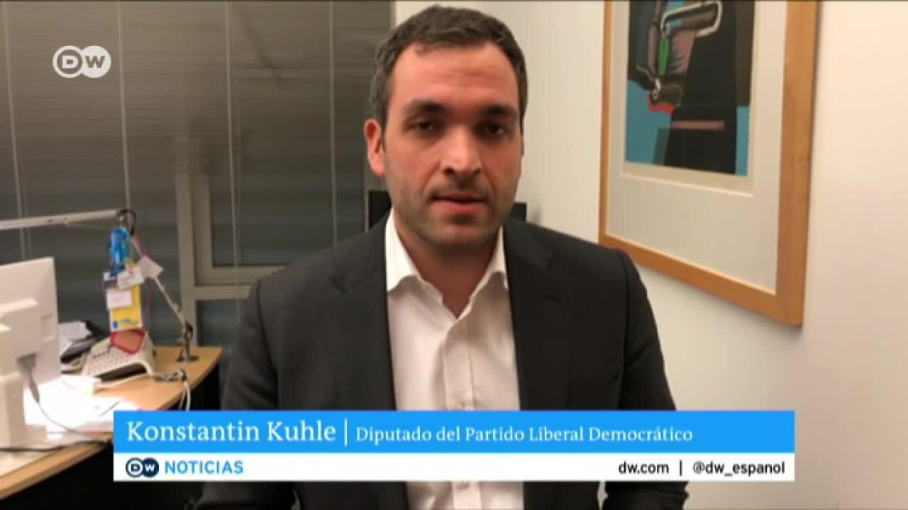 Diputado alemán opina sobre entrevista a Guaidó