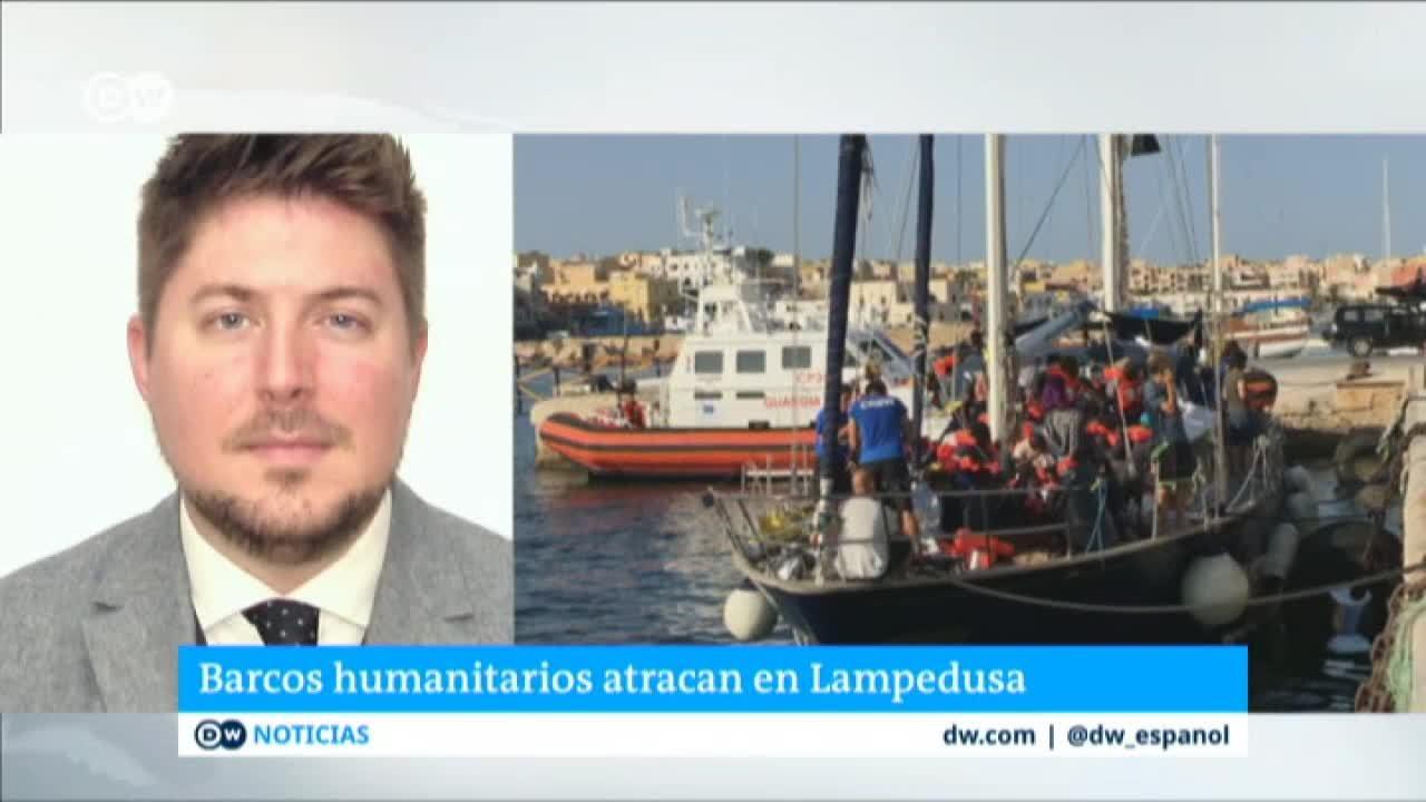 Distintas ONG desafía prohibición de atracar en Lampedusa