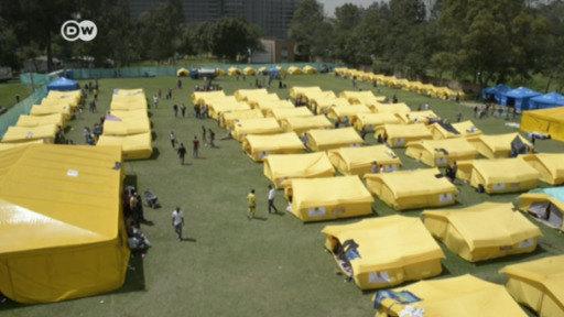 Disturbios en campos de inmigrantes venezolanos
