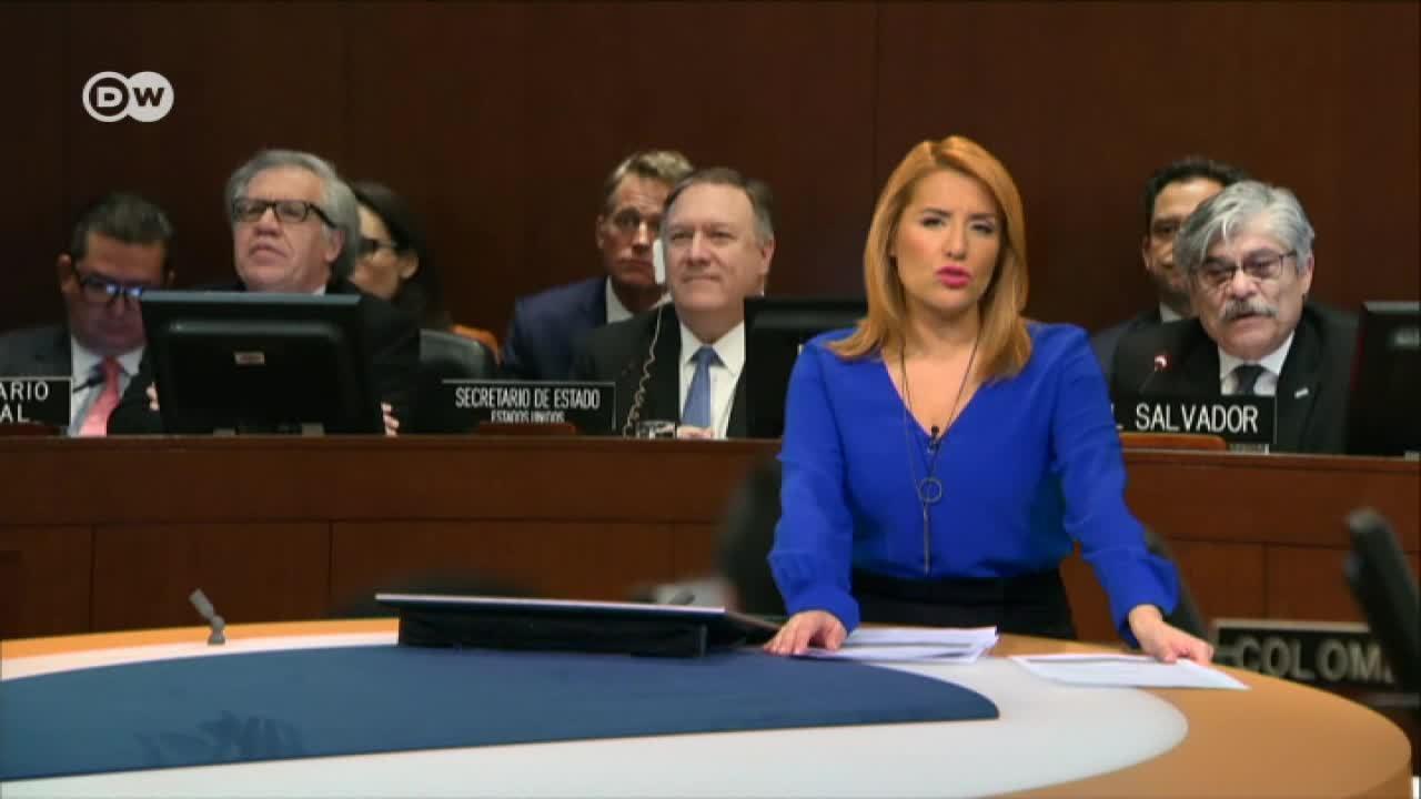 División en la OEA por la cuestión venezolana