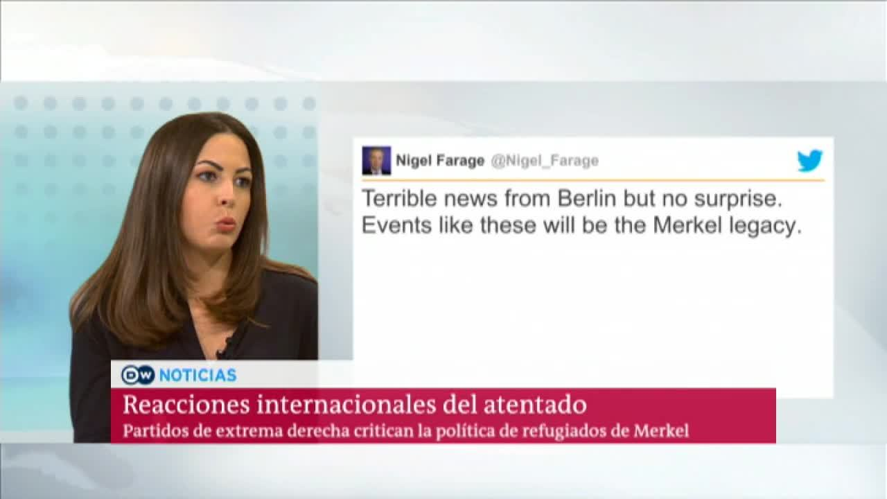 Duros mensajes contra Merkel en redes sociales