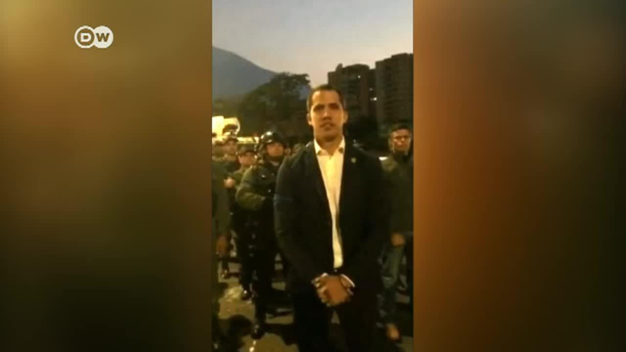 DW entrevista en exclusiva a Juan Guaidó