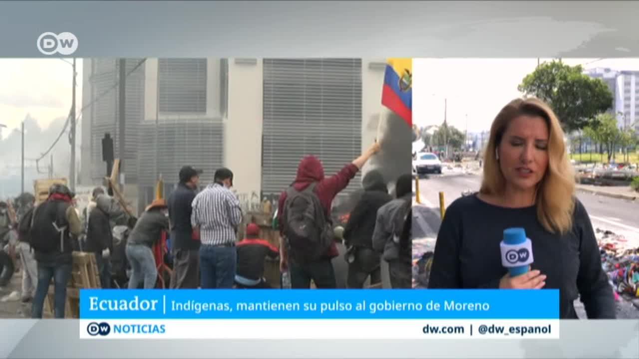 Ecuador: en horas se inicia la reunión prevista entre Moreno y líderes indígenas