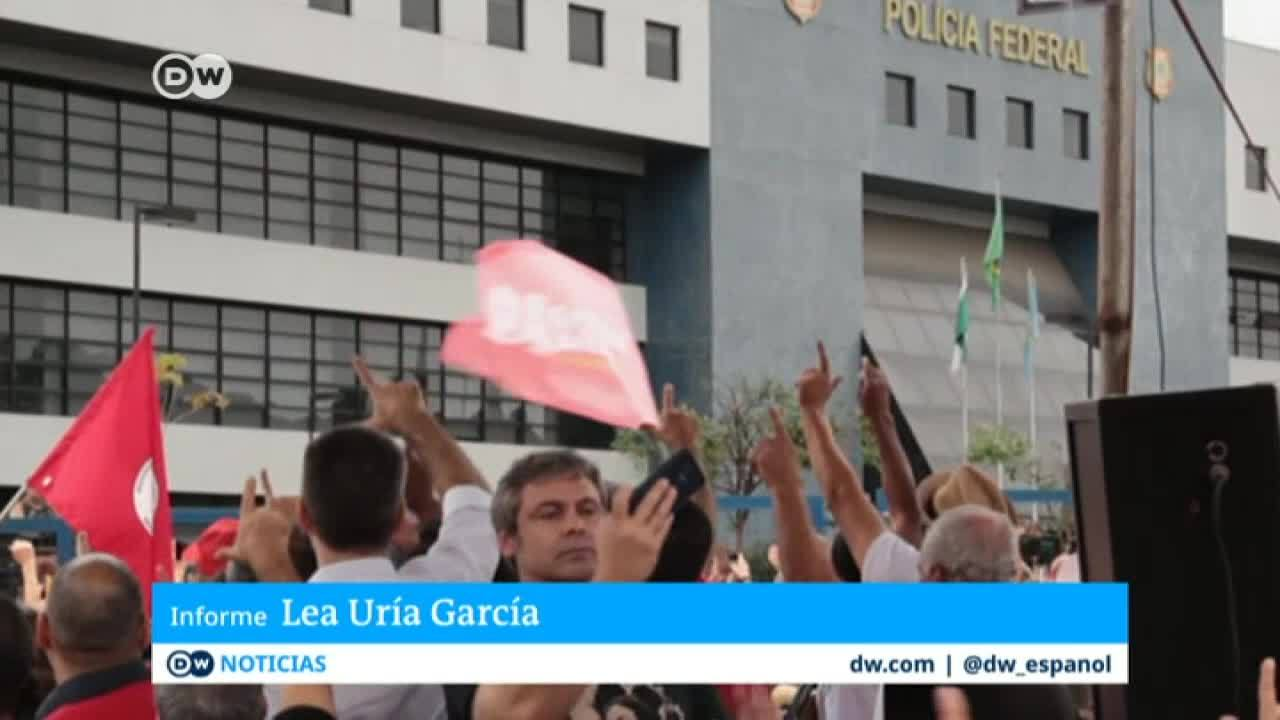 El encarcelamiento de Lula divide a Brasil