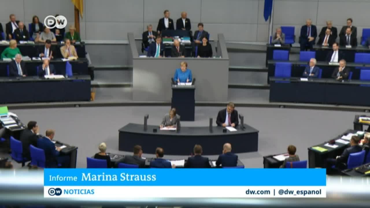 El presupuesto anual de Alemania se centra en los problemas globales