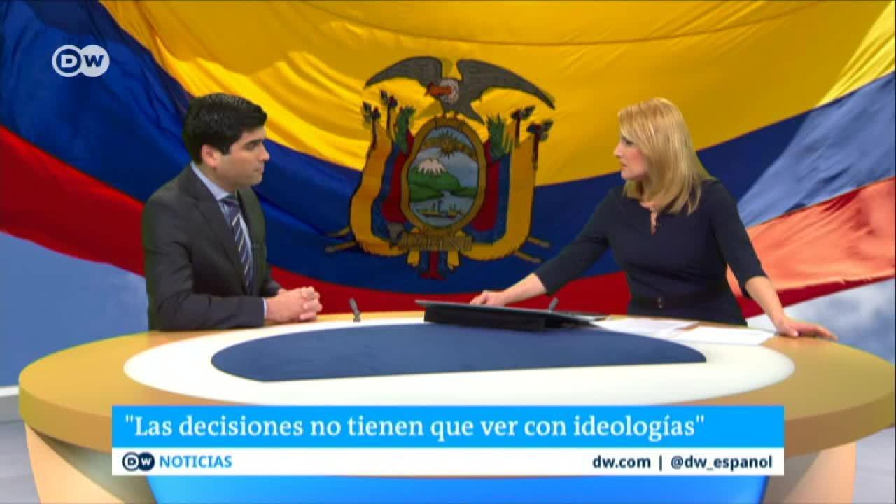 El respaldo de Ecuador a Juan Guaidó