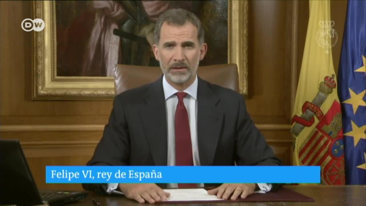 El Rey Felipe VI acusa de deslealtad a miembros de la Generalitat