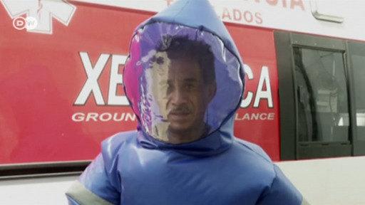 Empresa mexicana desarrolla un nuevo traje hazmat
