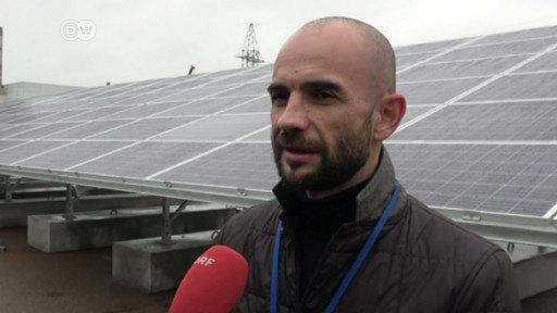 Energía solar en Chernóbil