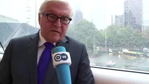 Entrevista con el ministro alemán de Exteriores