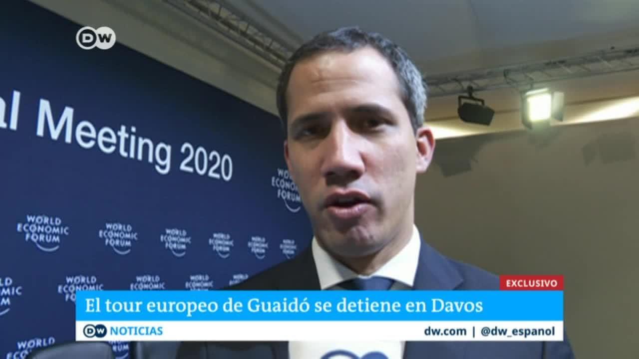 Exlusiva: Entrevista con Juan Guaidó en Davos