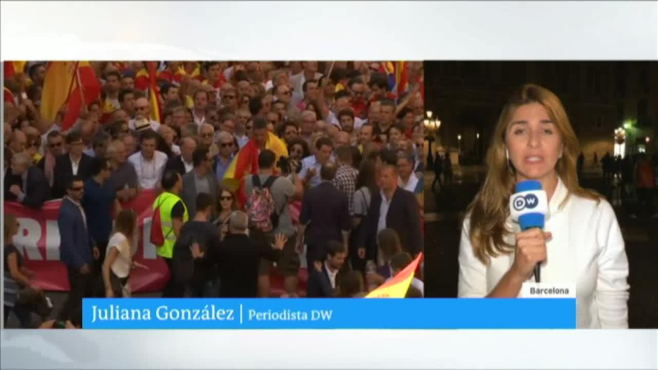 Expectativa en Barcelona frente a desición del gobierno catalán