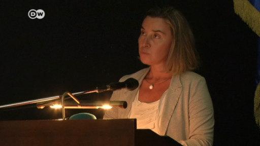 Federica Mogherini visita Cuba