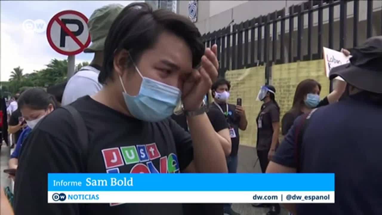 Filipinas ordena el cierre de la mayor cadena de TV