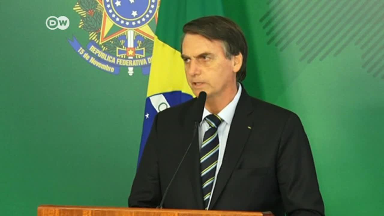 Guaidó se reúne con Bolsonaro en Brasilia