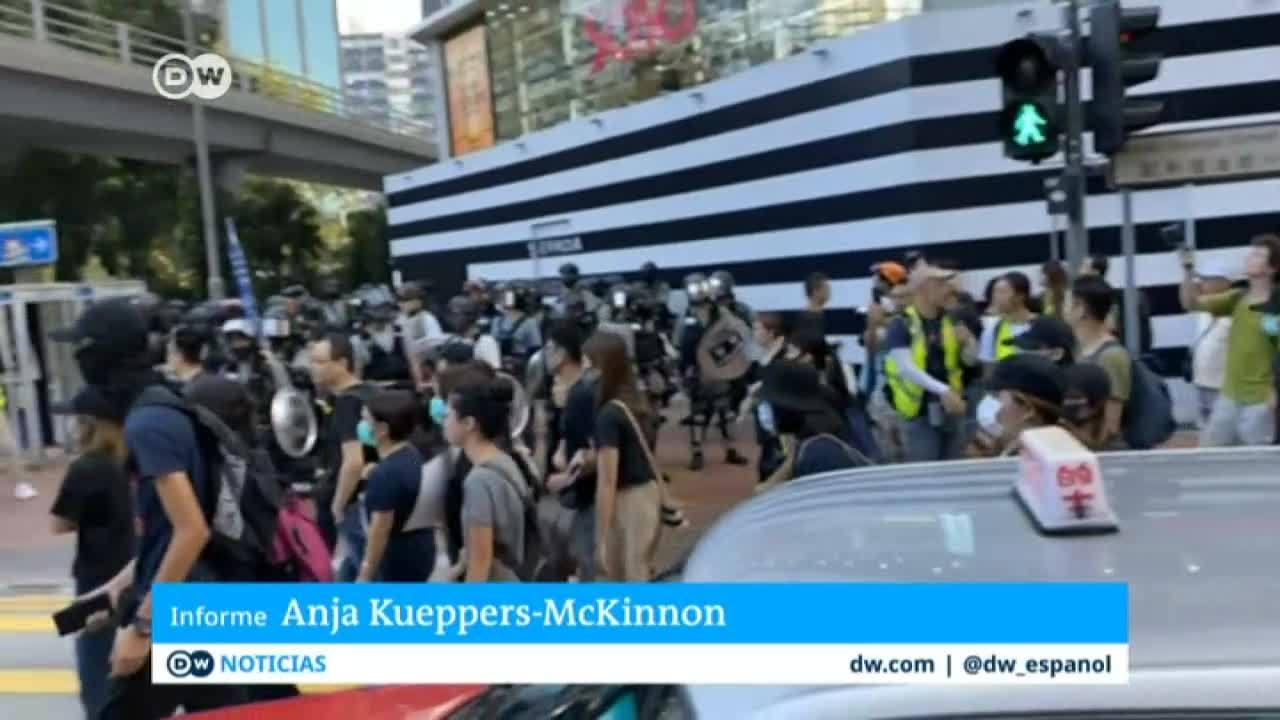 Hong Kong vuelve a sumirse en el caos