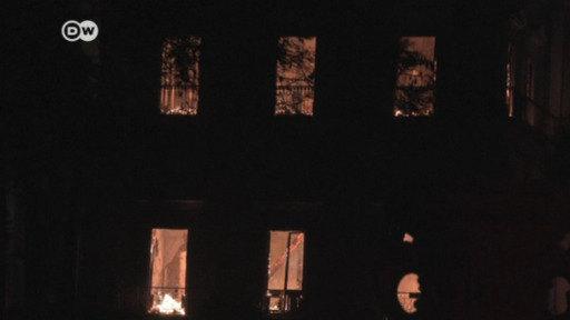Incendio arrasa el Museo Nacional de Río de Janeiro