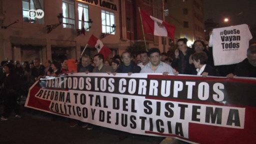 Indignación en Perú por la corrupción en la Justicia