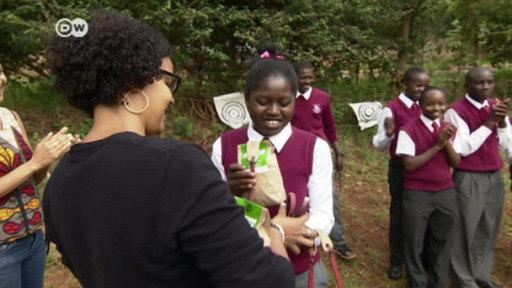 Kenia: árboles con honda