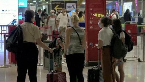 La cuarentena sorprende a los británicos que regresan de España