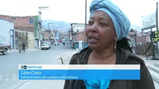 La esperanza de paz de los desplazados en Colombia