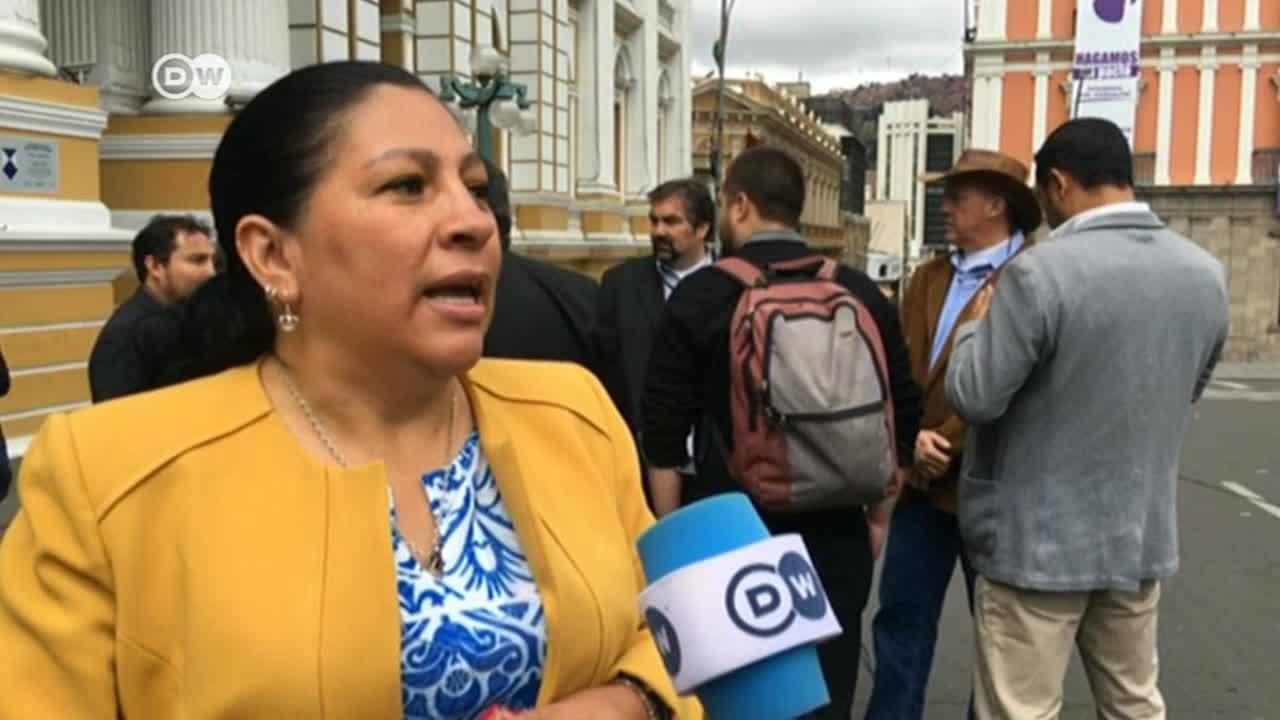 La oposición toma las riendas en Bolivia