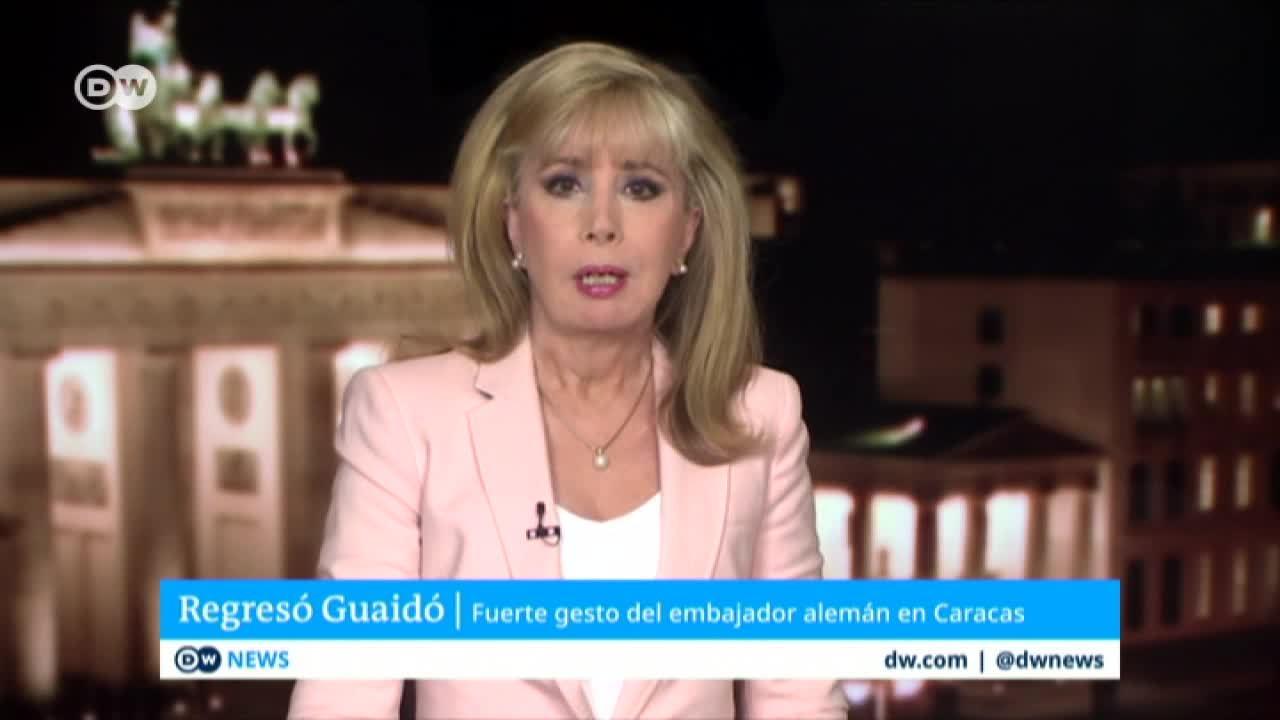 La posición de Alemania es de pleno apoyo a Guaidó