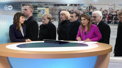 Macron en Berlín