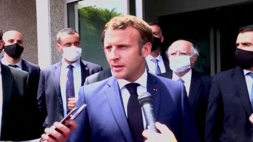 Macron promete ayuda al Líbano