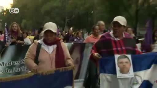 Madres en busca de sus hijos desaparecidos