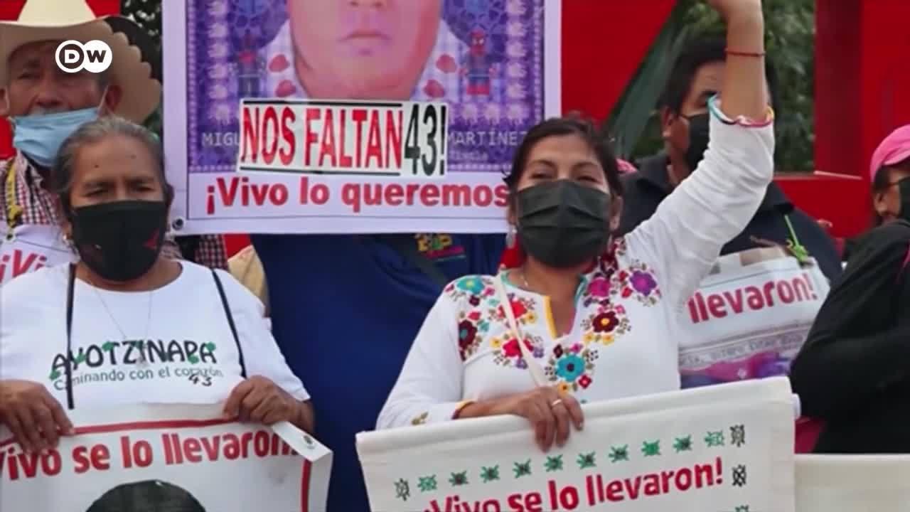 Marcha en memoria de los 43 estudiantes de Ayotzinapa