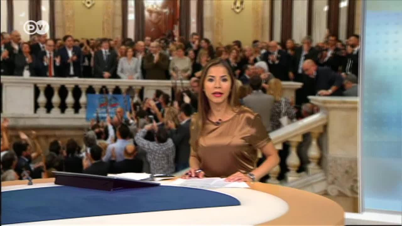 Máxima tensión en Cataluña