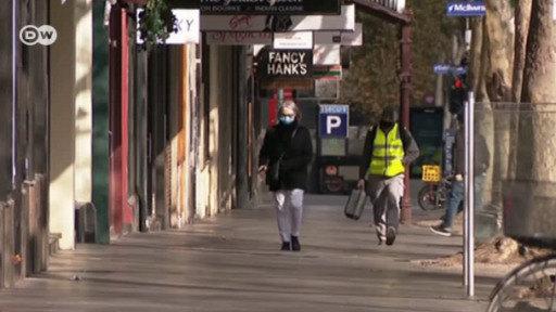 Melbourne, segunda ola con toque de queda