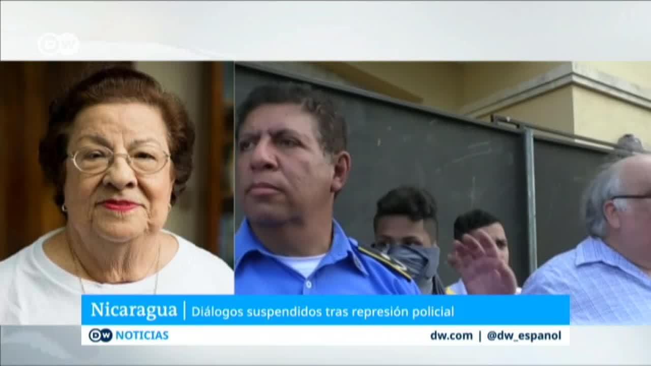 Mesa de diálogo suspendida en Nicaragua