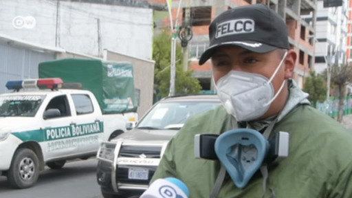 Muertos en las calles de La Paz