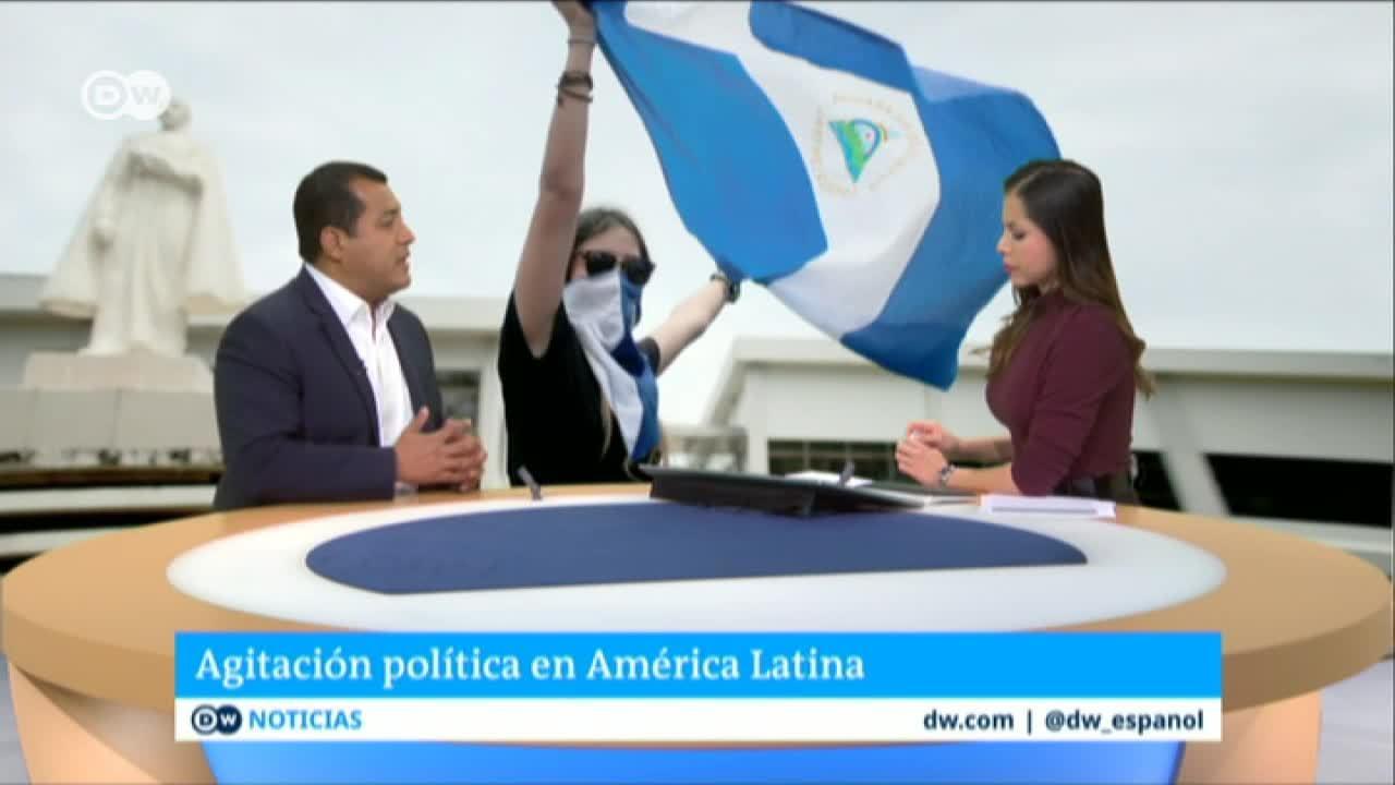Nicaragua: oposición a la espera del informe de la OEA