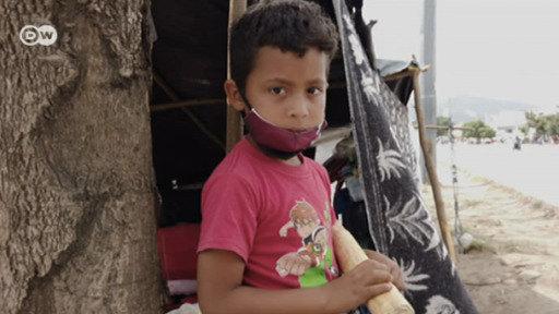 Niños migrantes de Cúcuta