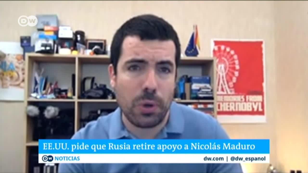 No hay planes de que el Kremlin retire apoyo militar a Maduro