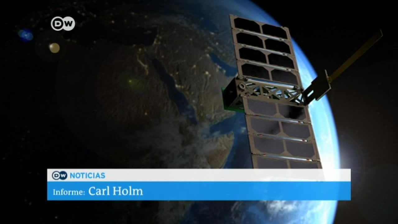 Nueva tecnolgía espacial con microsatélites