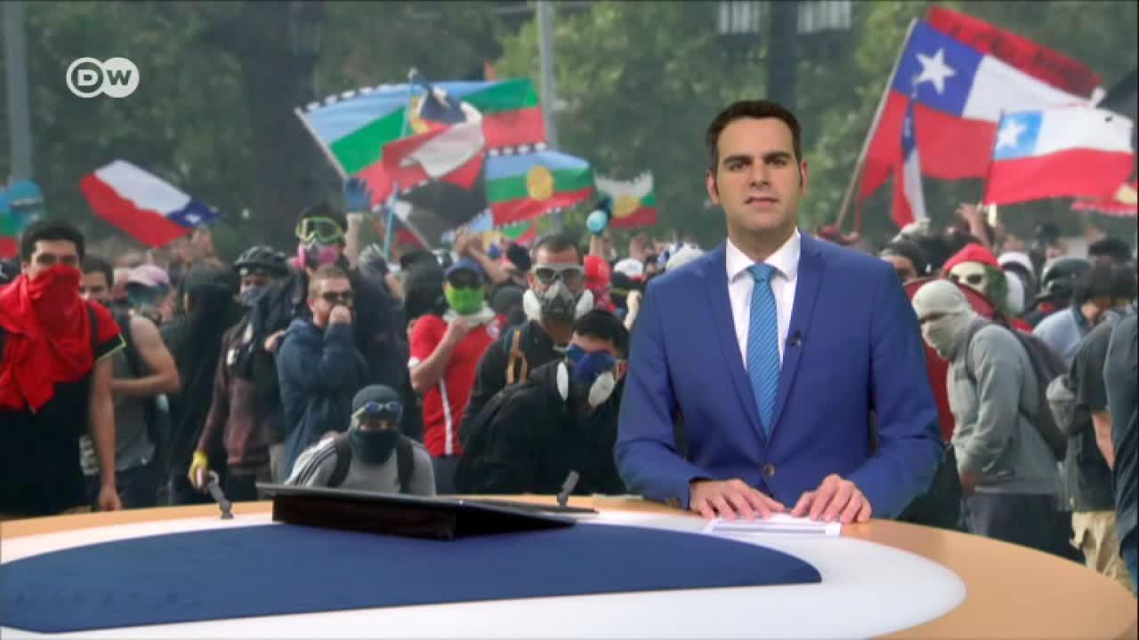 Nuevas jornadas de protestas en Chile