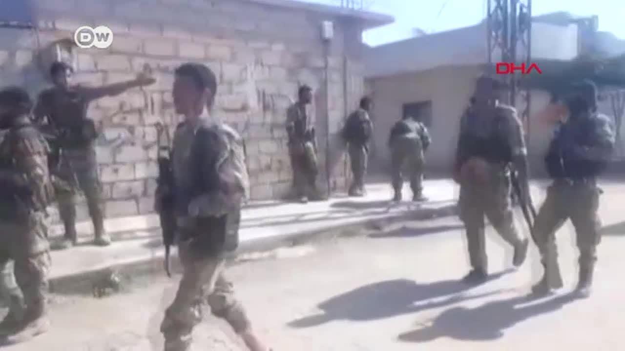 Ofensiva turca: el drama de la guerra, otra vez