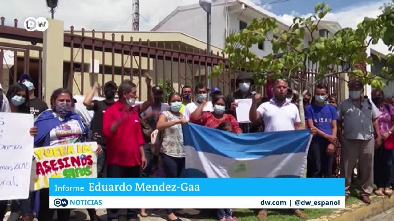 Opositores exiliados piden desconocer elecciones en Nicaragua