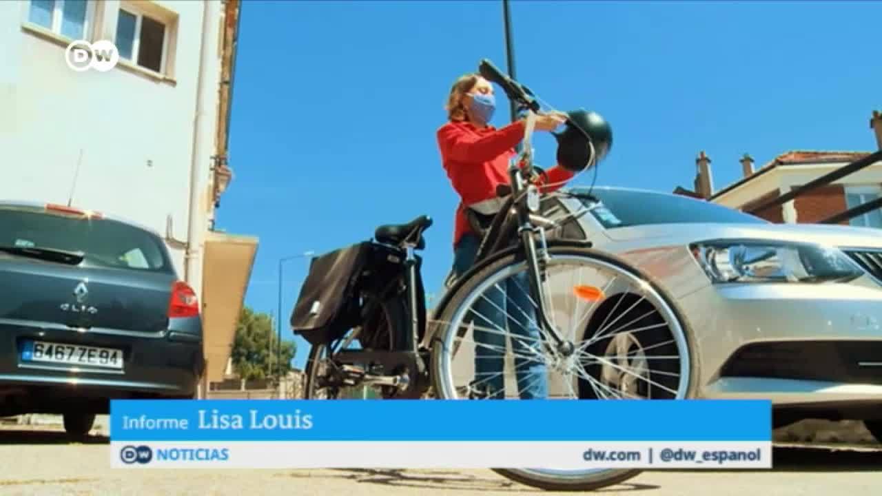 Pandemia en París: la bici gana